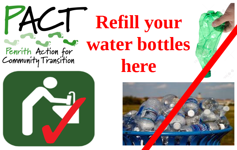 PACT Water Refill Poster