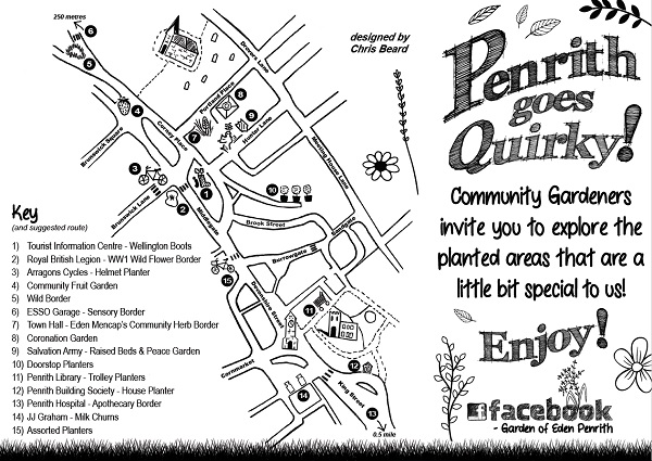 Penrith community gardens and quirky planters trail
