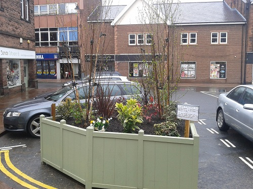 Planter in Penrith Burrowgate